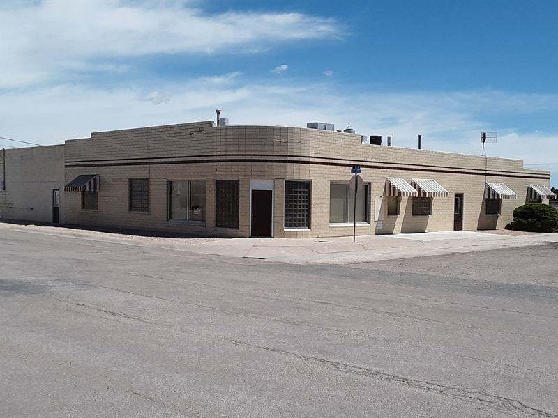 Commercial Building, Office Space : Lusk : Niobrara County : Wyoming