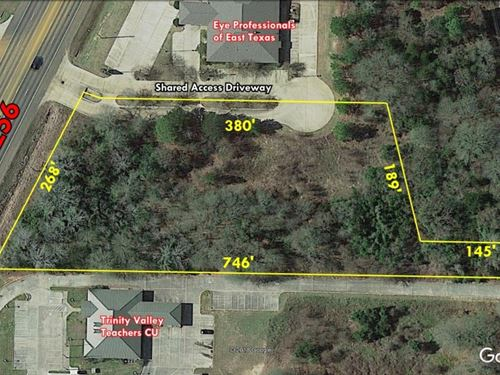 Commercial Land Loop 256 Palestine : Palestine : Anderson County : Texas