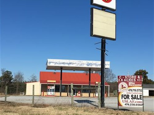Convenience Store Situated on 2.69 : Forest City : Rutherford County : North Carolina