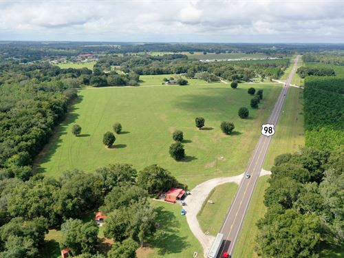 26 Acres on US 98 For Res Dev : Ellerslie : Pasco County : Florida