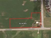 8+ Acres Laraway & Gougar : New Lenox : Will County : Illinois