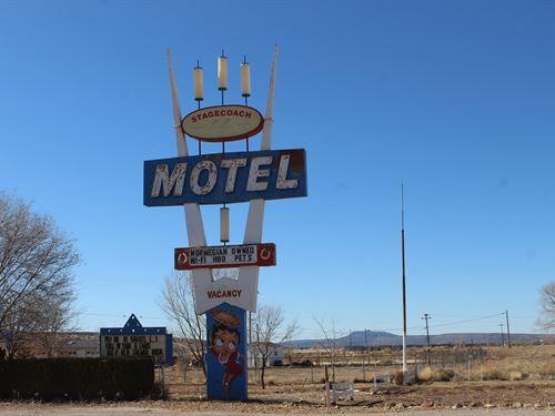 Route 66 Motel Restaurant Seligman : Seligman : Yavapai County : Arizona