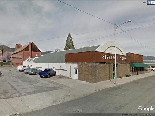 Commercial Space in Yreka, CA : Yreka : Siskiyou County : California