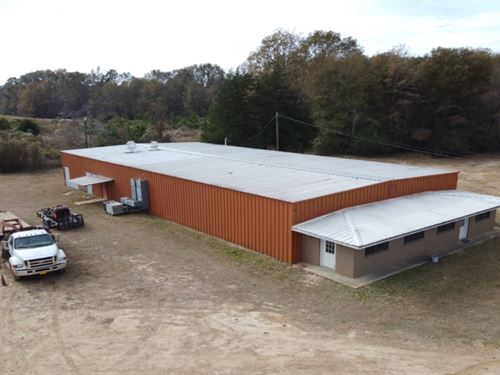Commercial Building On 2 Acres : Lena : Scott County : Mississippi