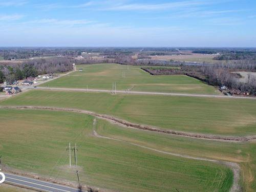 NC Hwy 222 Farmland & Development : Fremont : Wayne County : North Carolina