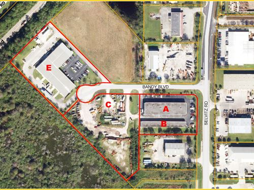 Leased Industrial Portfolio : Fort Pierce : Saint Lucie County : Florida