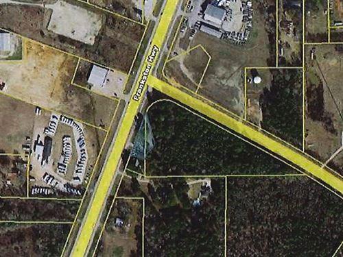 High Traffic Corner Lot Hwy 155 : Flint : Smith County : Texas