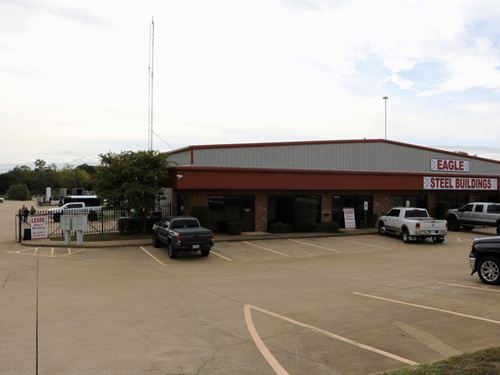 Office Warehouse Space Lease Sale : Flint : Smith County : Texas