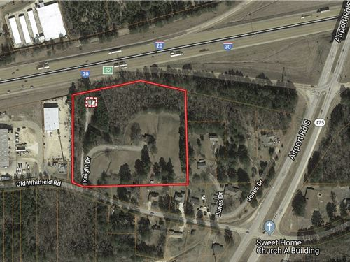 Commercial Acreage in Pearl, MS : Pearl : Rankin County : Mississippi