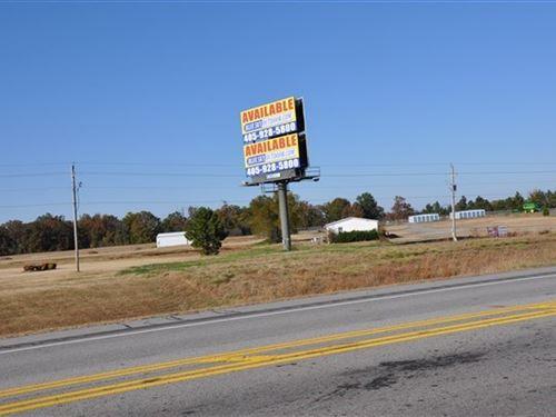 6 Acres Highway Property Edge : Poteau : Le Flore County : Oklahoma