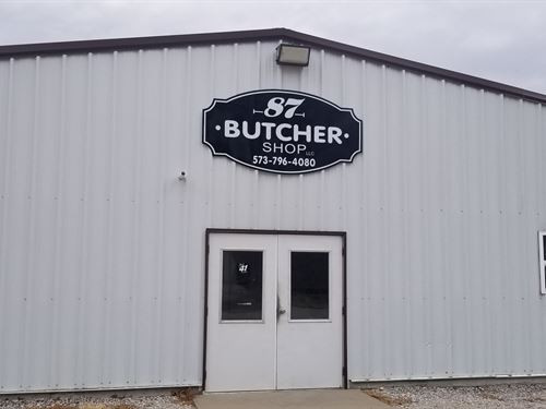 Butcher Shop / Meat Packing Plant : California : Moniteau County : Missouri