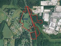 59.6 Ac of Prime Industrial Land : Calhoun : Gordon County : Georgia