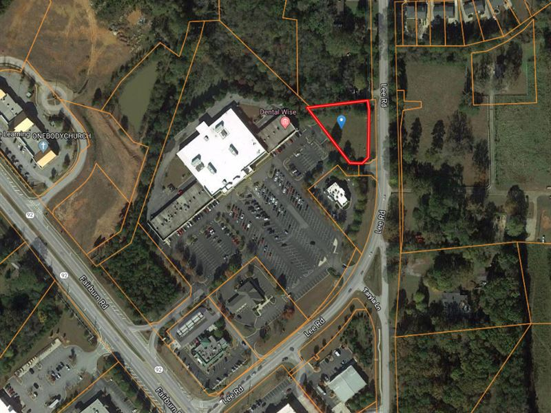 Pad Ready Commercial Lot : Lithia Springs : Douglas County : Georgia
