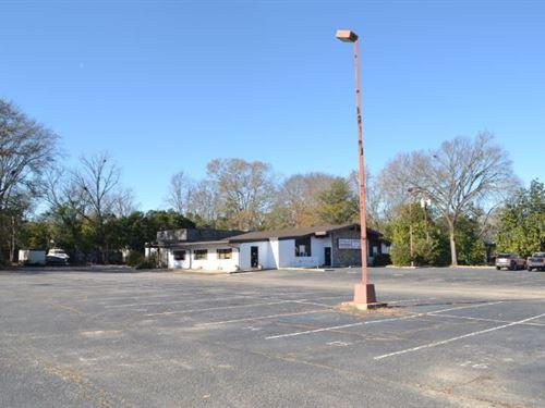 Former Restaurant Property SC : Cheraw : Chesterfield County : South Carolina