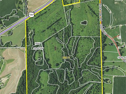 Hunting, Farming & Commercial Prop : Rockport : Pike County : Illinois