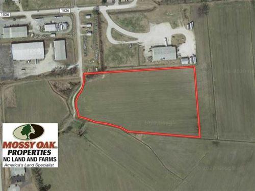 10.14 Acres of Commercial Land : Washington : Beaufort County : North Carolina