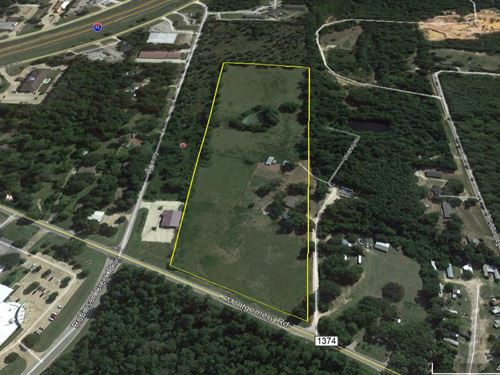 14.925 Acres FM 1374 : Huntsville : Walker County : Texas