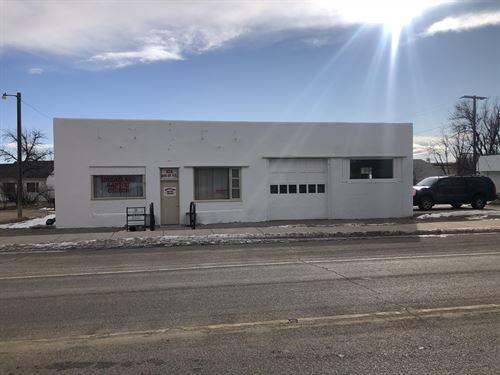Harlowton Commercial Property : Harlowton : Wheatland County : Montana