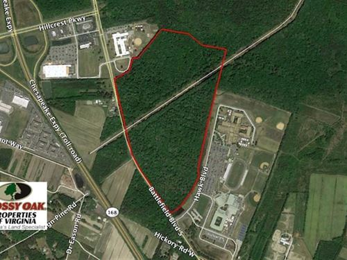 Under Contract, 107 Acres of Deve : Chesapeake : Chesapeake City County : Virginia