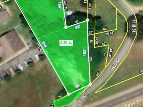 Highly Visible Commercial Lot : Hohenwald : Lewis County : Tennessee