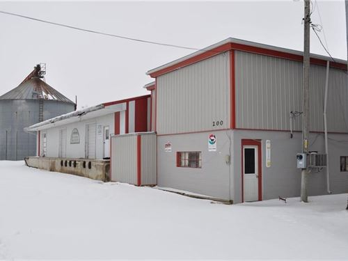 74'X24' Warehouse, Office Space : King City : Gentry County : Missouri