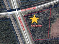 5 Acres US Hwy Frontage, A-602 : Hawthorne : Alachua County : Florida