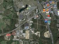 Light Industrial Land For Sale : Macon : Bibb County : Georgia