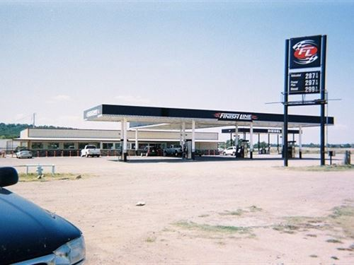 Convenience Store, Gas Station : Cameron : Le Flore County : Oklahoma