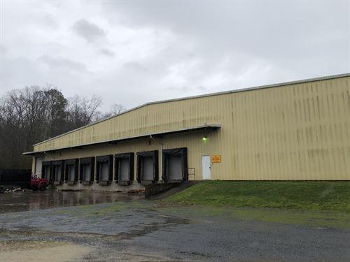 80,450Sf Industrial Building : Fairmount : Gordon County : Georgia