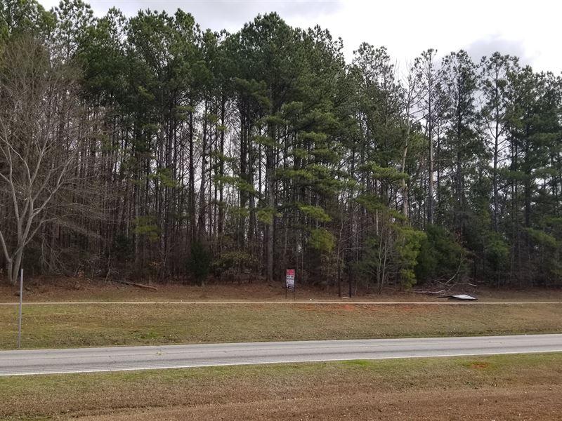 2 Wooded Development Tracts : Palmetto : Fulton County : Georgia