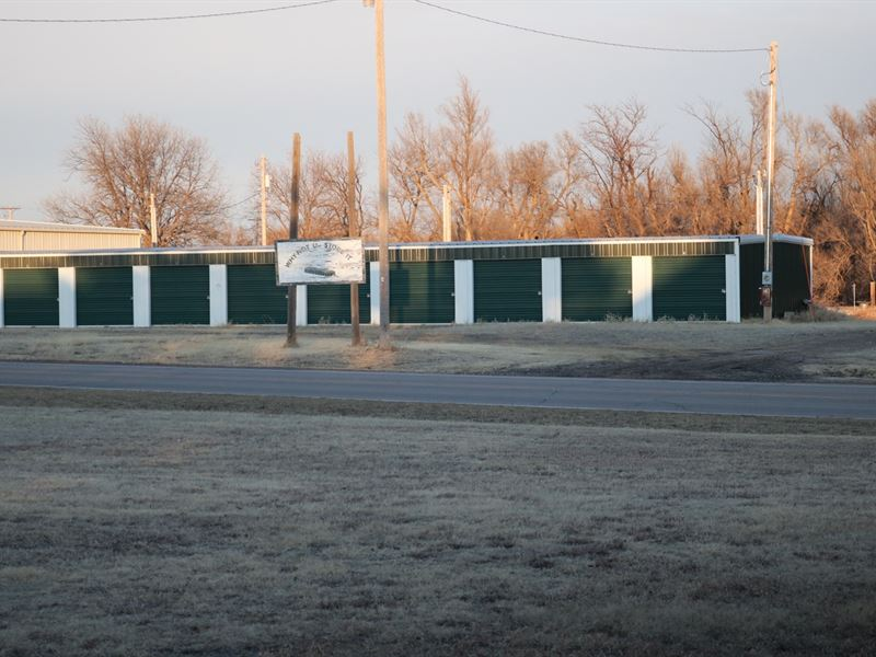 Storage Units And RV Park For Sale : Coldwater : Comanche County : Kansas