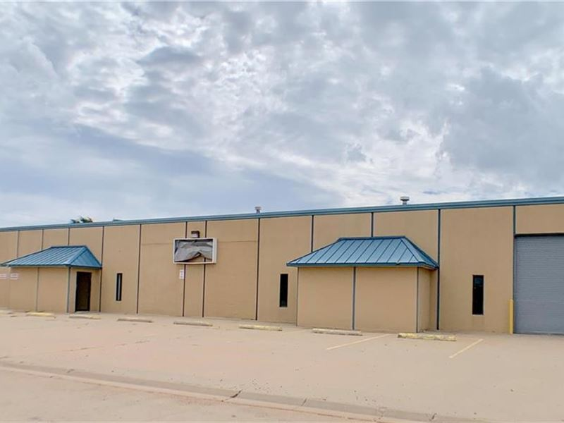 Industrial Building Office : Elk City : Beckham County : Oklahoma