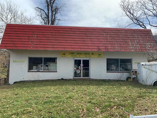 1.37 Acres 1500 sq ft Commercial : Tazewell : Virginia