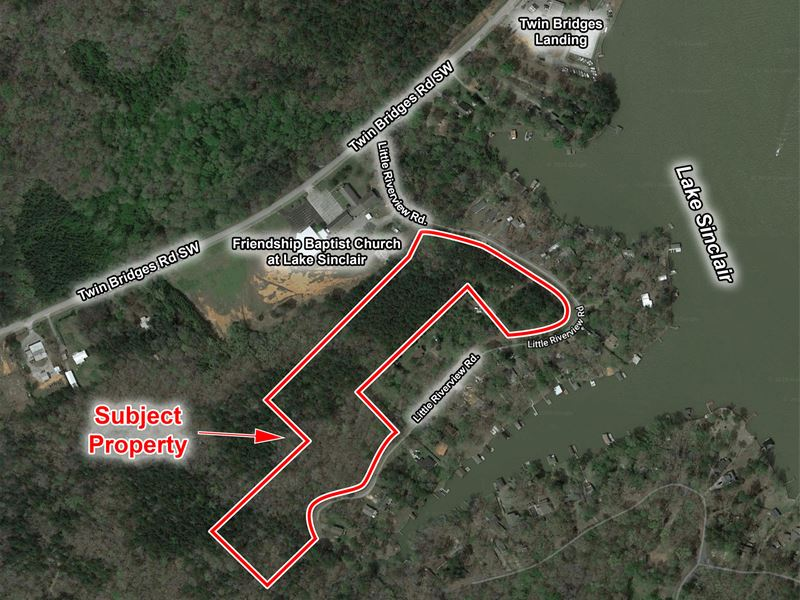 4 Parcels 14.3 Acres : Eatonton : Putnam County : Georgia