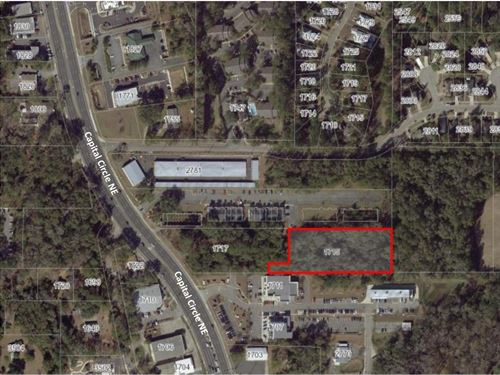 1.96 Acres Capital Circle : Tallahassee : Leon County : Florida