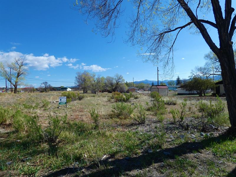 Commercial Lot Poncha Springs, CO : Poncha Springs : Chaffee County : Colorado
