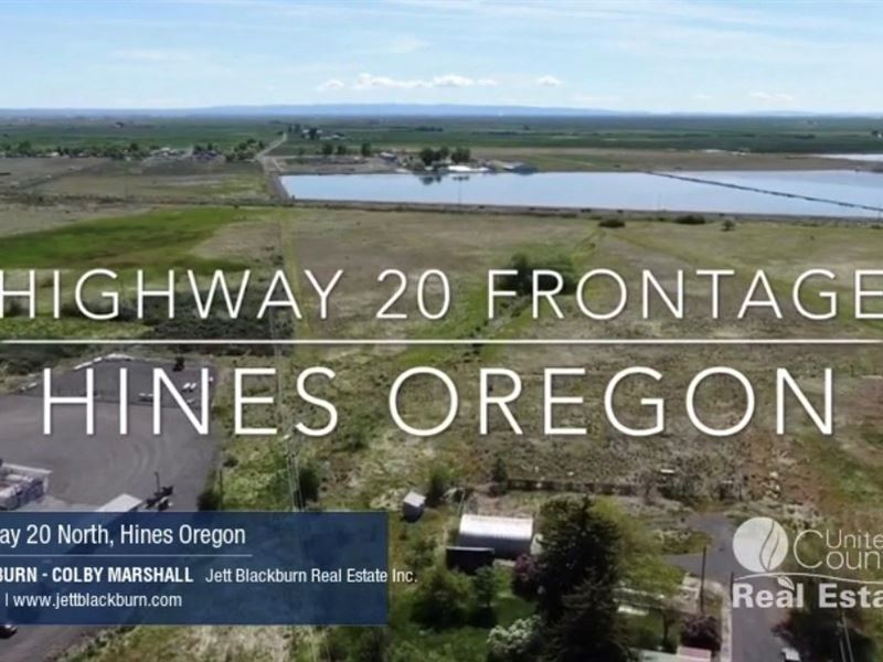 Highway 20 Commercial & Industrial : Hines : Harney County : Oregon