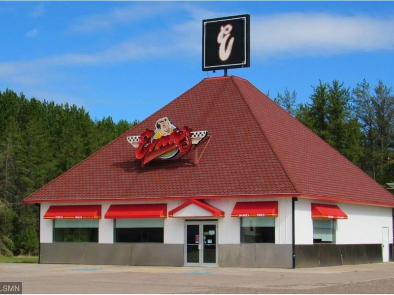 Restaurant Building Sturgeon Lake : Sturgeon Lake : Pine County : Minnesota