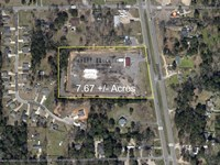 7.6 Ac Commercial Property for Sale : Ball : Grant Parish : Louisiana