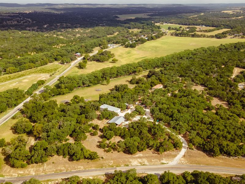 Sisterdale Texas Commercial Land : Boerne : Kendall County : Texas