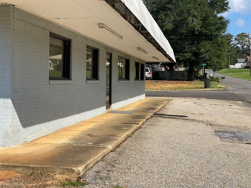 Multi-Purpose Commercial Building : Luverne : Crenshaw County : Alabama