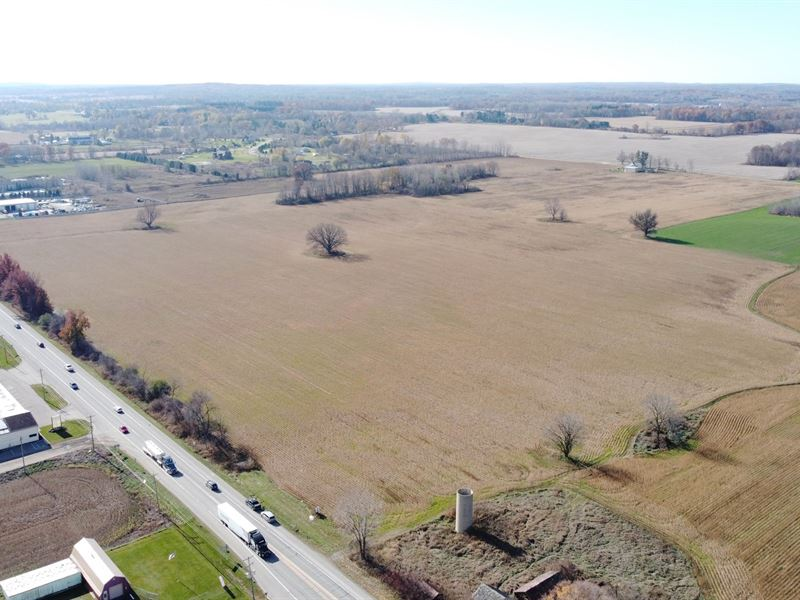Commercial Opportunity, 55 Acres : Almont : Lapeer County : Michigan