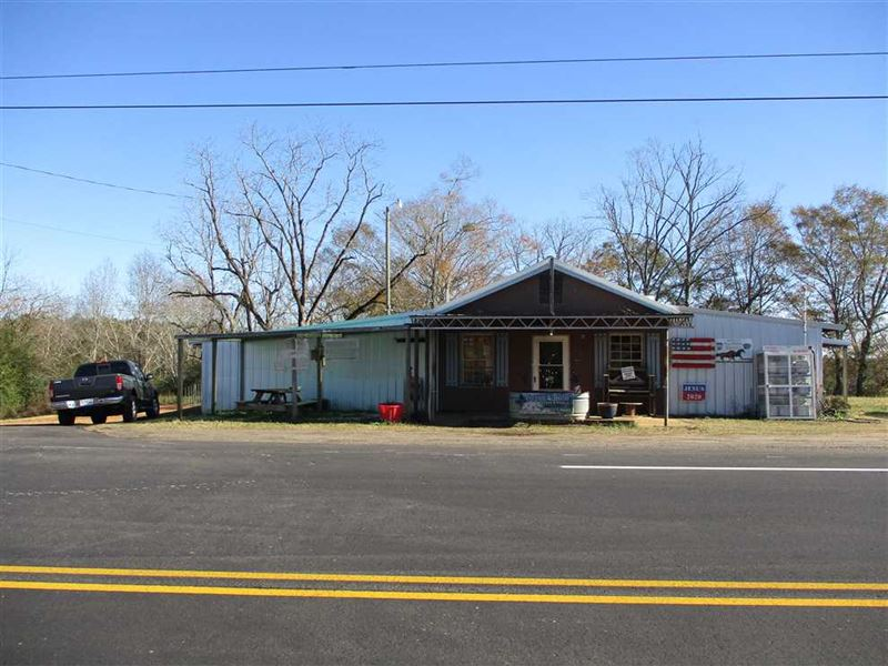 Farm Supply, Feed & Seed Store Wit : Banks : Pike County : Alabama