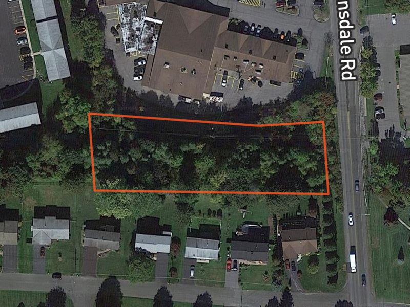 Lot with Public Sewer and Water : Camillus : Onondaga County : New York