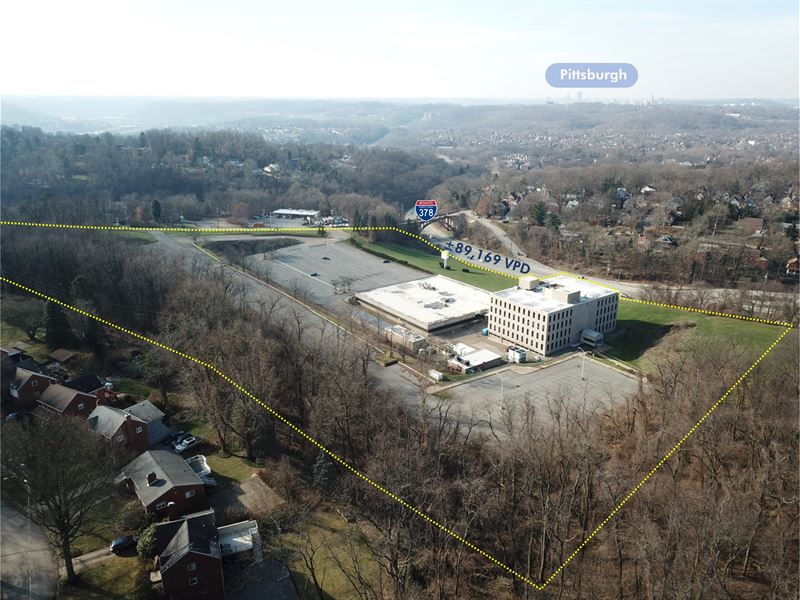 Reo Data Center on 21.81 Acres : Pittsburg : Allegheny County : Pennsylvania