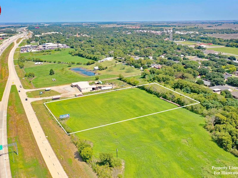 4+ Acres Ih35, McLennan CO : West : McLennan County : Texas