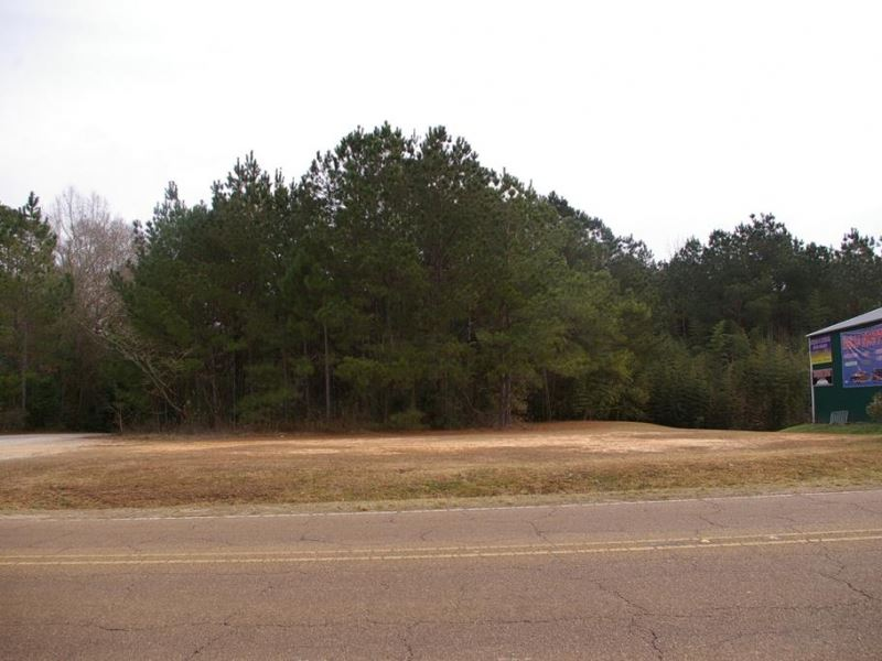 1.83 Acres Commercial Property : McComb : Pike County : Mississippi