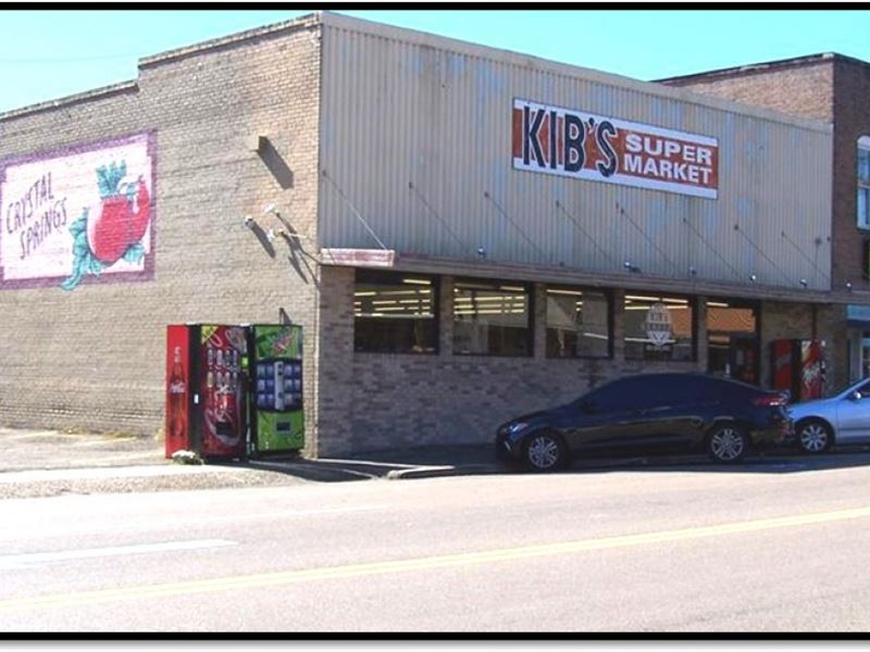 Kib's Supermarket At 114 East Georg : Crystal Springs : Copiah County : Mississippi