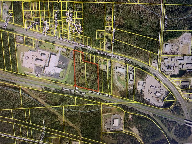 Large Commercial Lot : Midway : Gadsden County : Florida