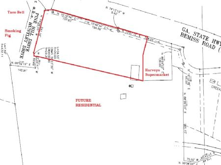 7.5 Acres Commercial Land Bemiss Rd : Valdosta : Lowndes County : Georgia